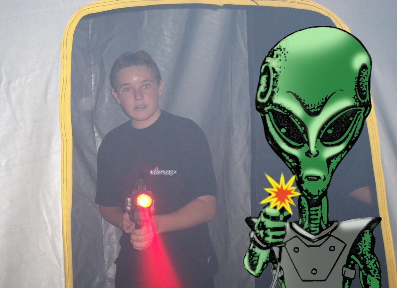 Alien Laser Game