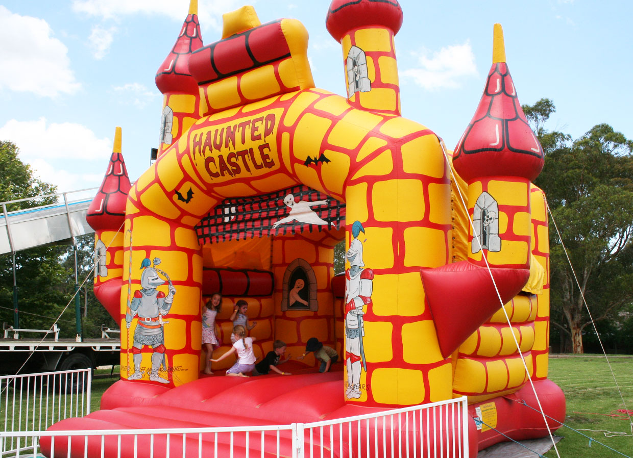 Haunted Jumping Castle