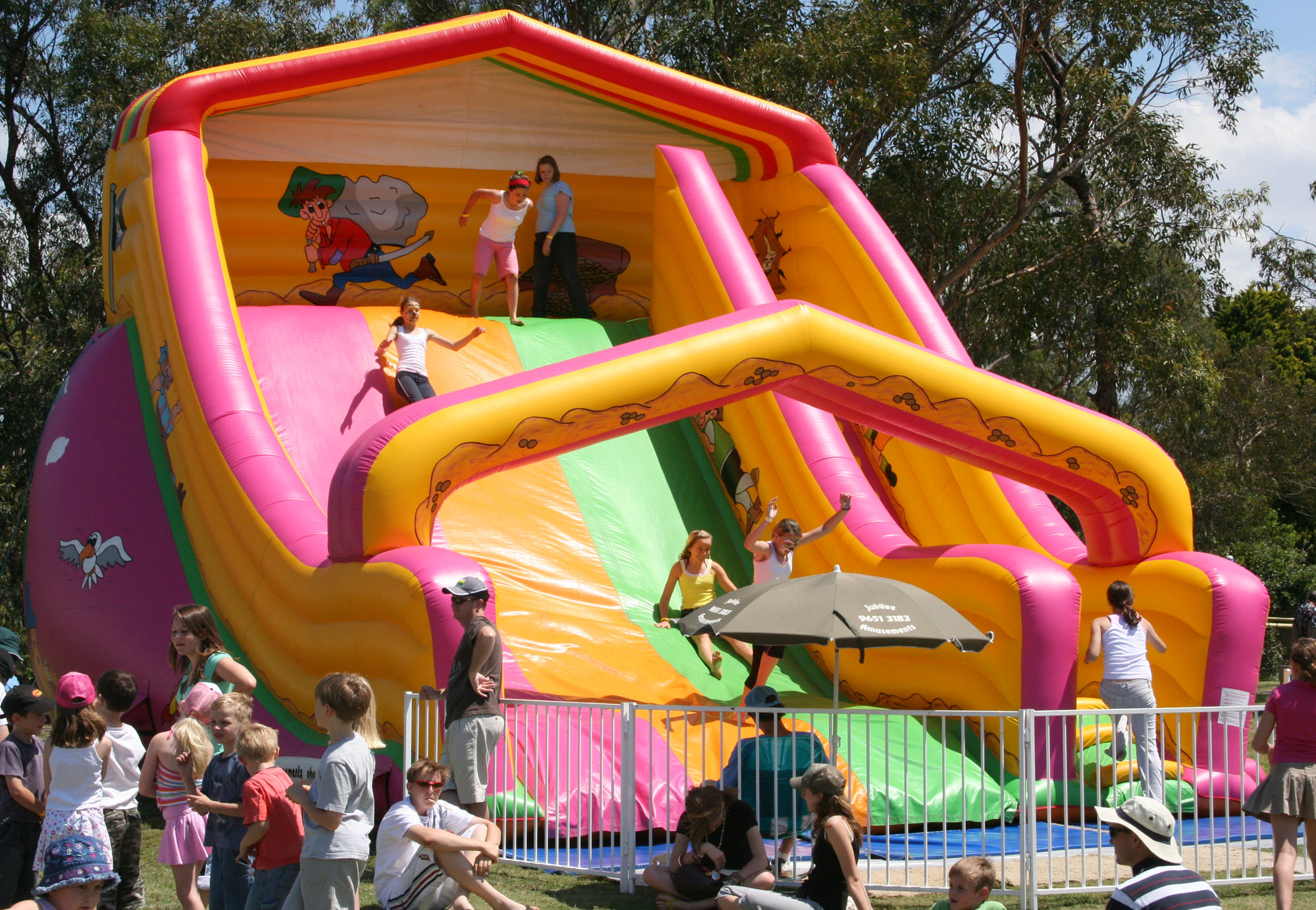 Amusement Inflatable Slides